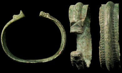 Viking arm ring found in Latvia dating back to the 8th century