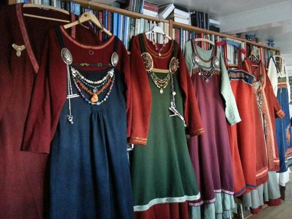Vikings loved wearing colorful clothes however not everyone in the society could afford it