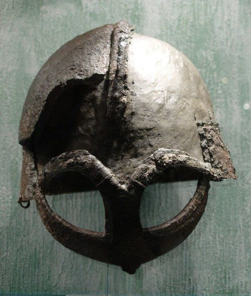Viking helmet artifacts