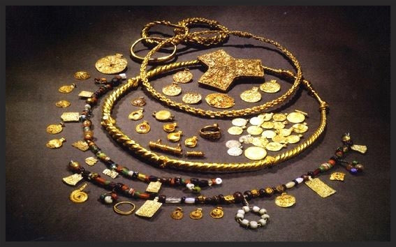 Viking Hoen Hoard was among the most luxurious Viking hoards