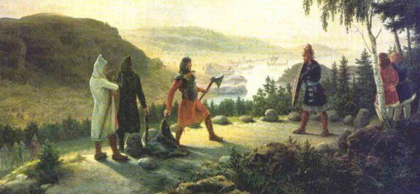 Viking holmgang was the duel of the Vikings either to challenge or to settle dispute