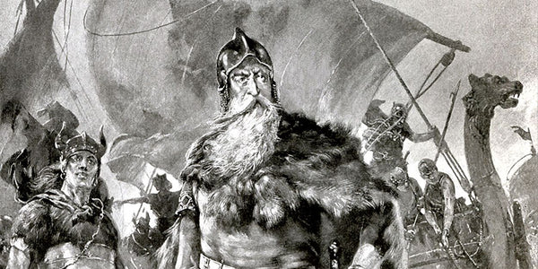 Viking King went on his raiding and plundering in search of fortune, reputation, and new land.