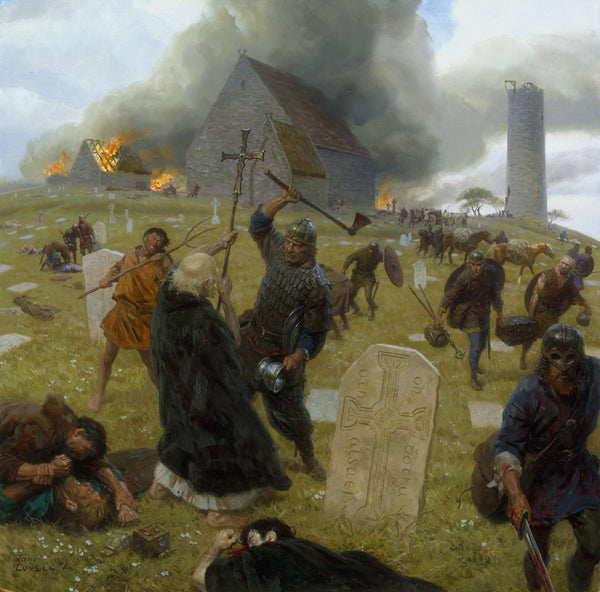 Viking most likely plundering objects are the monasteries. Here are three Viking traditions that lost when the Christians dominated the Vikings