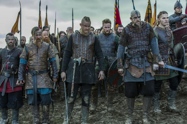 Ragnar's sons in battle. They sought revenge for the death of Ragnar Lothbrok a great Viking hero