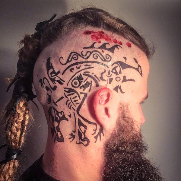 Viking Ragnar tattoo