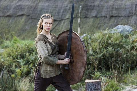 Hervor Viking shieldmaiden grew up to be a bold Viking warrior