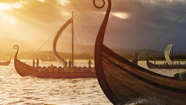 Viking ship voyage