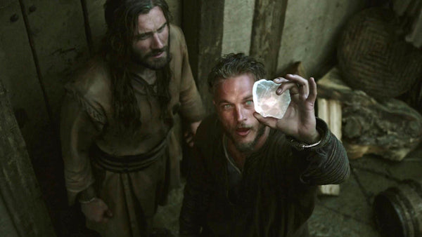 Ragnar and Rollo and Viking sunstone