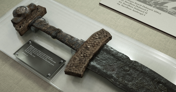 Viking sword artifact