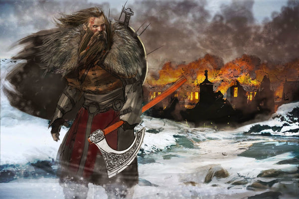The Vikings were true opportunists. Because they knew where and when to raid