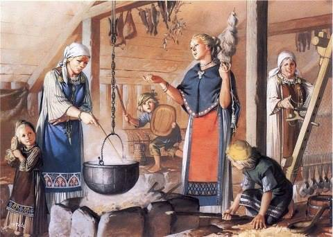 Viking women role in their time