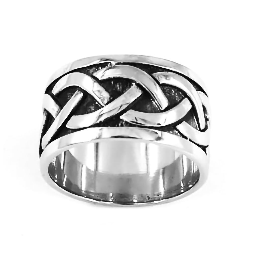 Stainless Steel Celtic Knot Design Ring