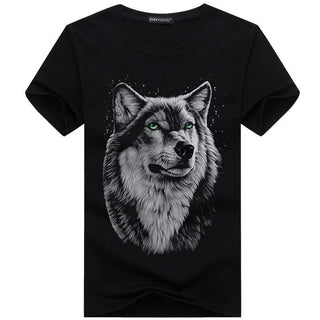 bavipower-viking-jewelry-3D White Wolf T-shirt-3d t-shirt-BaViPower-Black-S-BaViPower