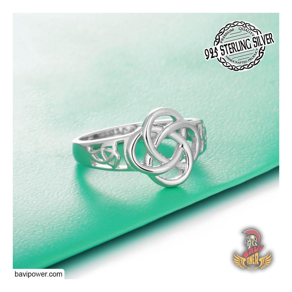 925 Sterling Silver Celtic Knot Ring