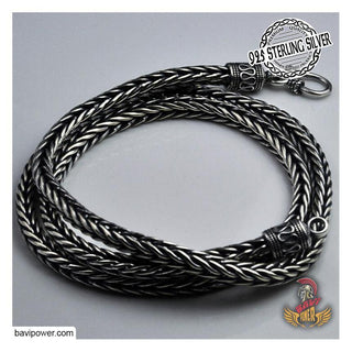 925 Sterling Silver King Chain Necklace For Men