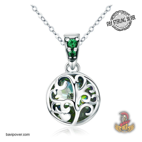 Image of Yggdrasil viking jewelry necklace