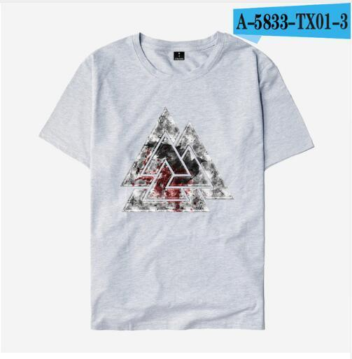 BaviPower Viking T-shirt - Bloody Valknut