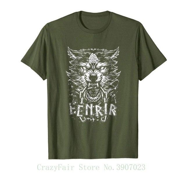 BaviPower Viking T-shirt Fenrir Wolf Head