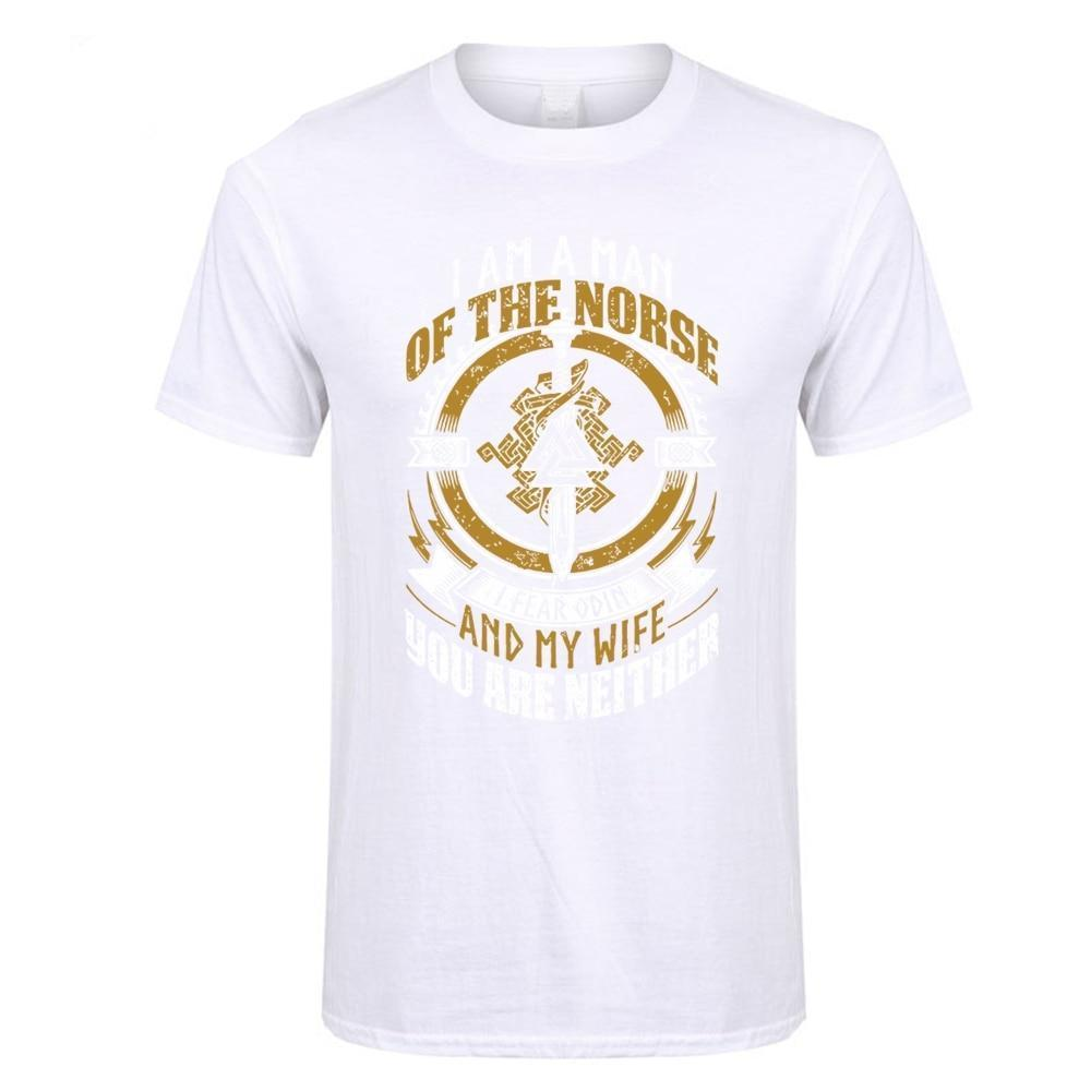 BaviPower Viking T-shirt I A Man of The Norse