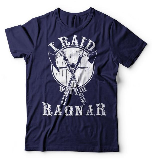 BaviPower Viking T-Shirt I Raid with Ragnar