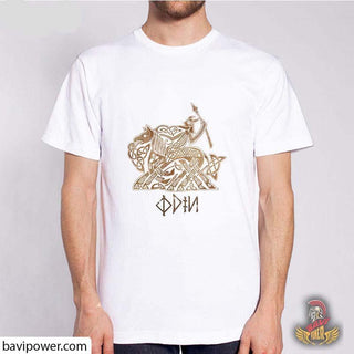 BaviPower Viking T-shirt - Odin and Sleipnir