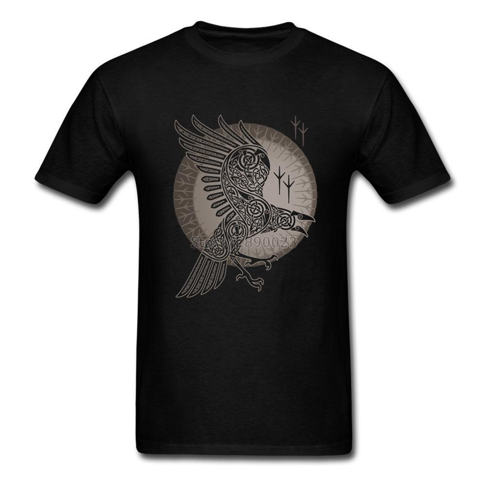 BaviPower Viking T-shirt Odin's Raven