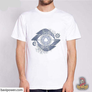 BaviPower Viking T-shirt - Raven and Odin's Eye