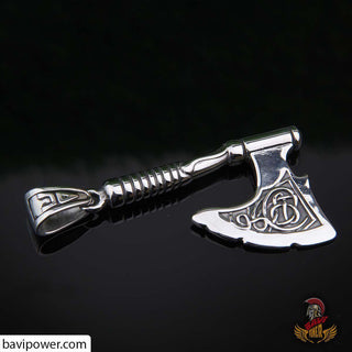 Big Viking Battle Axe Pendant
