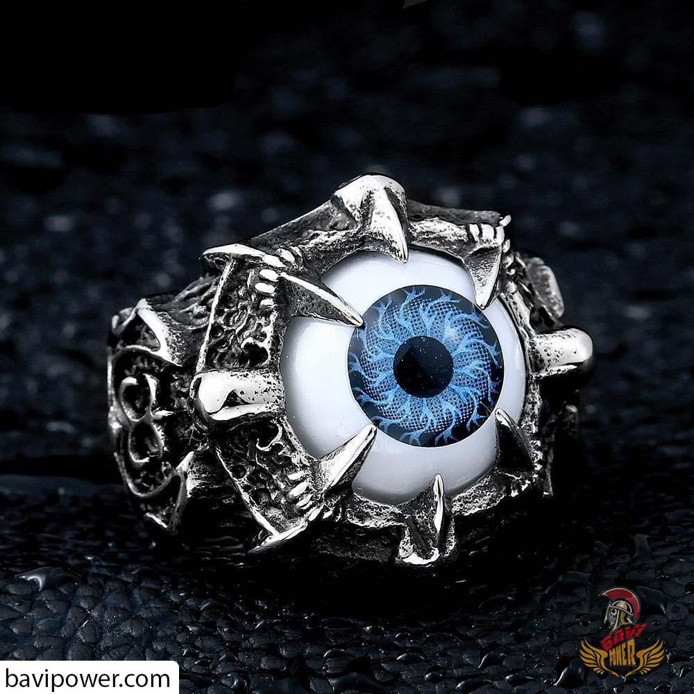 Devil's Blue Eye Ring