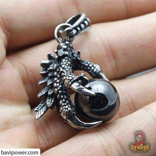 Dragon Claw Holding Stone Pendant