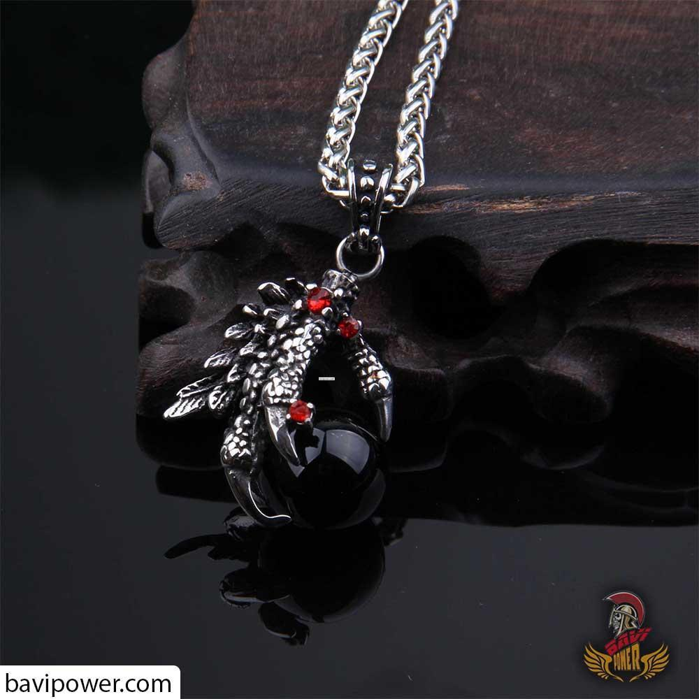 Dragon Claw Pendant Necklace