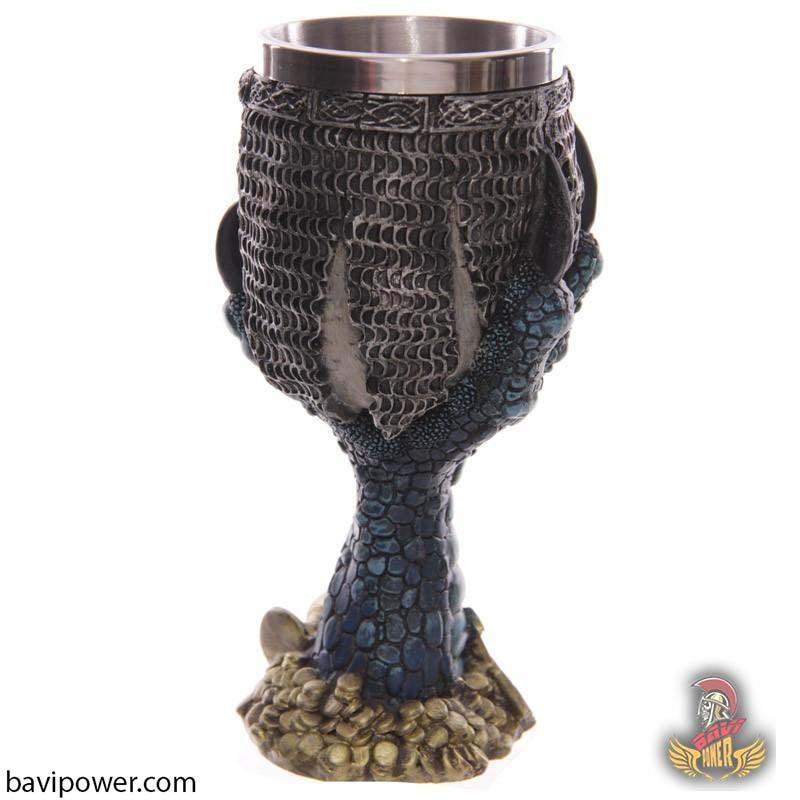 Dragons Claw & Warrior Skull Goblet