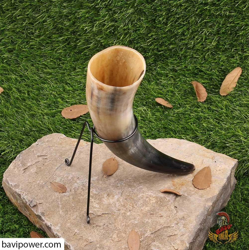 Drinking Horn & Troll Cross Holder