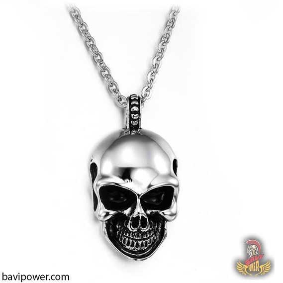 Funny Smiley Skull Necklace