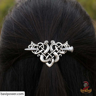 Large Celtics Knots Crown Hairpins F-08