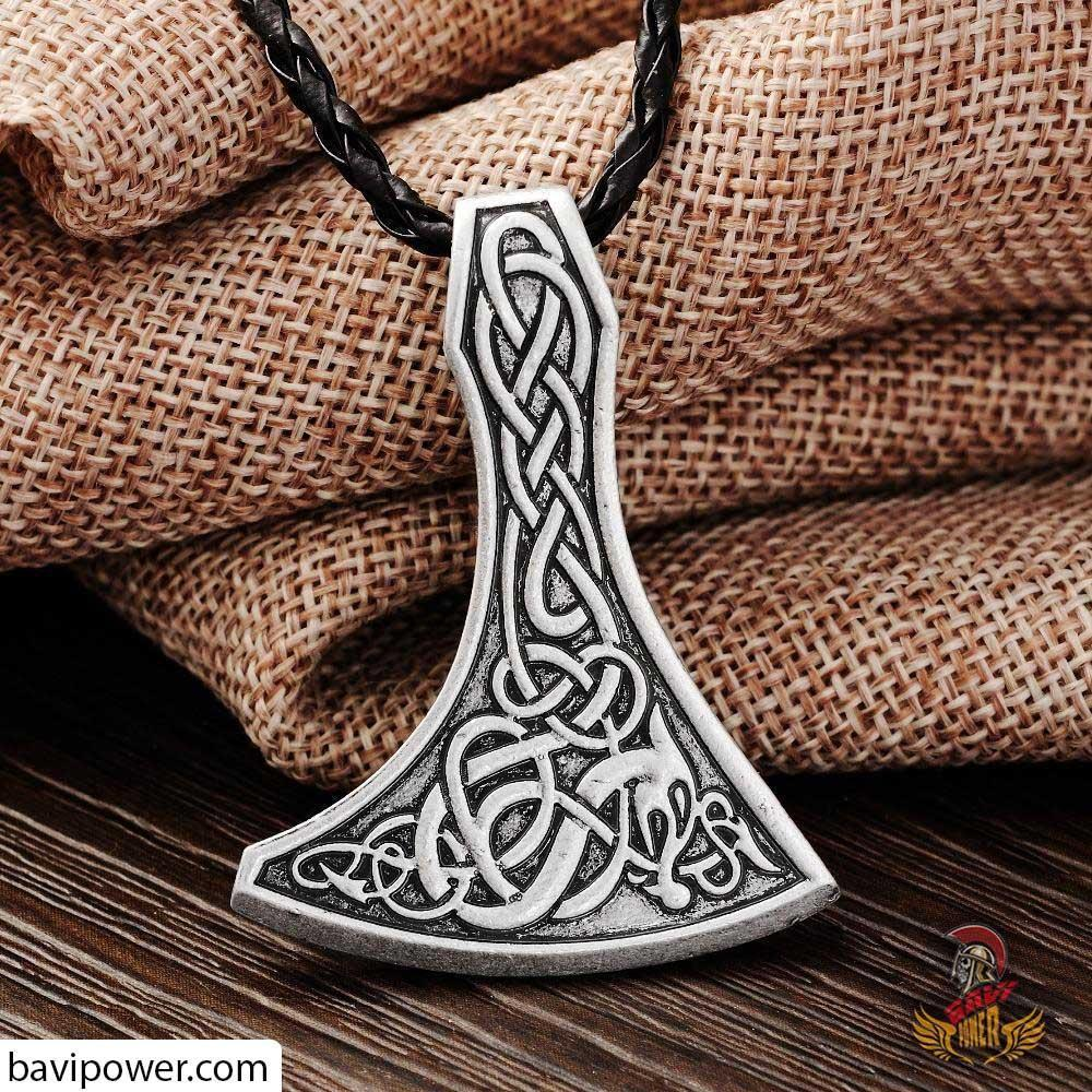 Legendary Viking Mammen Axe Necklace