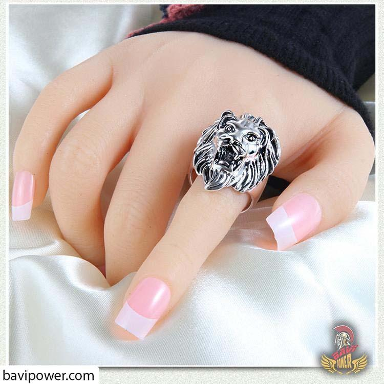 Lion Head Rings