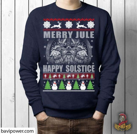 Merry YULE, Happy Solstice Shirt