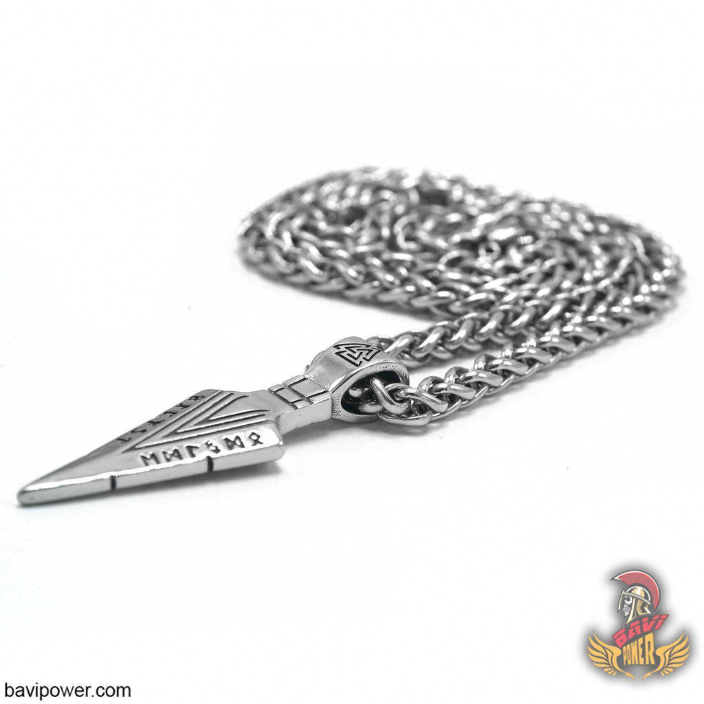 Odin's Gungnir Spear Head Pendant Necklace