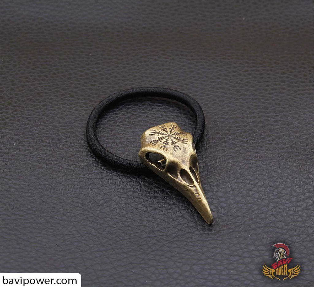 Raven Skull Hair Tie Set of 3 colors