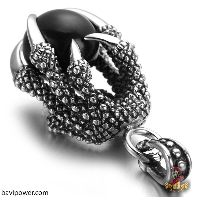 Stainless Steel Dragon Claw Pendant