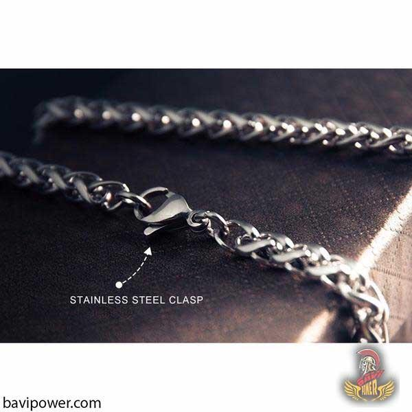 Stainless Steel Keel Chain Necklace