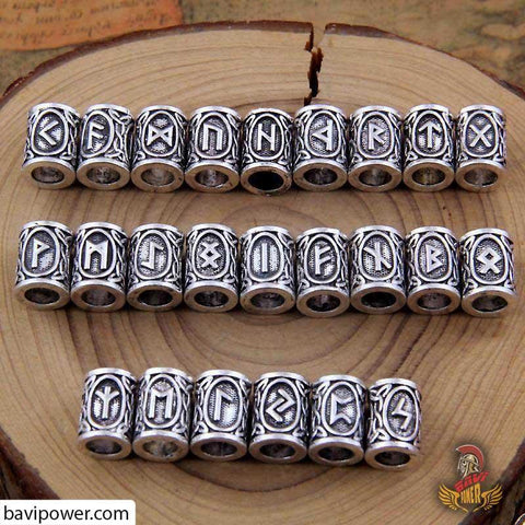 Image of Rune bead Viking jewelry