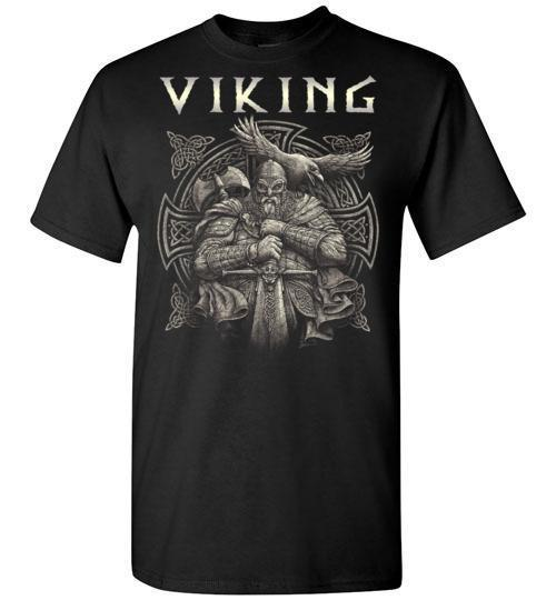 bavipower-viking-jewelry-Viking T-shirt BVP002-BaViPower-Gildan Short-Sleeve T-Shirt-Black-S-BaViPower