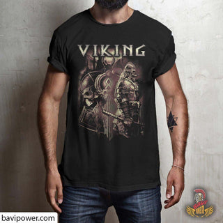 bavipower-viking-jewelry-Viking T-shirt BVP003-BaViPower-Gildan Short-Sleeve T-Shirt-Black-S-BaViPower