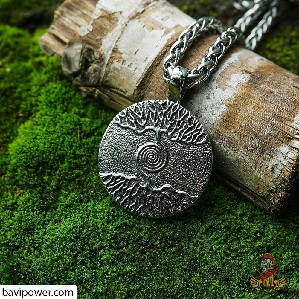 Viking Tree of Life Pendant Necklace