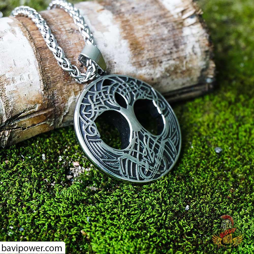 Yggdrasil Tree of Life Pendant Necklace
