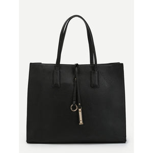 Ring Detail Tote Bag