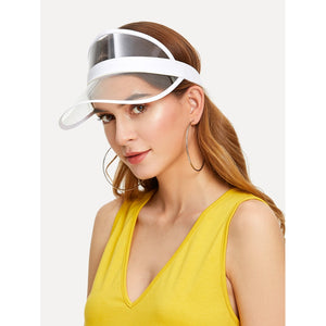 Clear Design Visor Hat