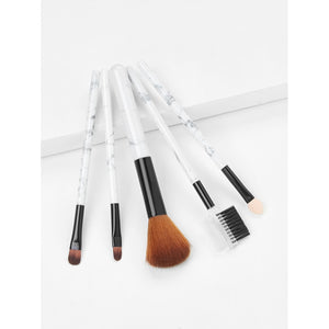 Floral Handle Makeup Brush 5pcs